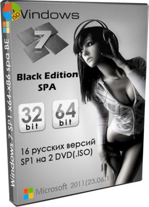 Windows 7 Black Edition x64 x86 SP1
