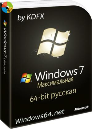Windows 7 by kdfx x64 русская Ultimate SP1